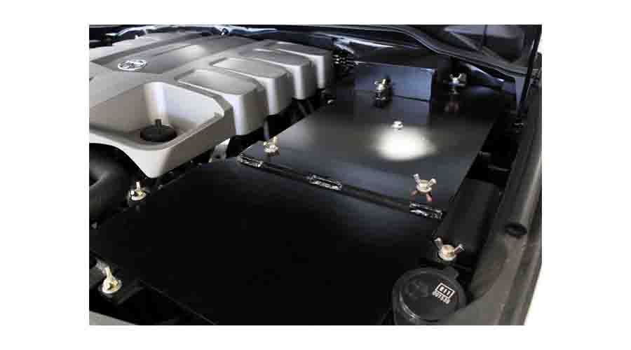 Armoured Toyota Land Cruiser Battery Protection