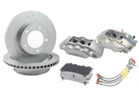 Armoured Toyota Land Cruiser 200 upgraded brake kits