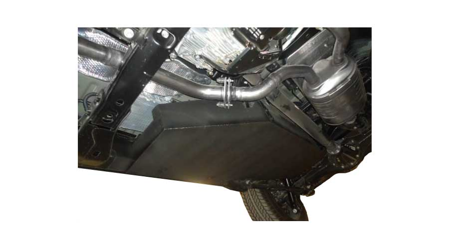 Armoured Toyota Land Cruiser 200 Fuel Protection