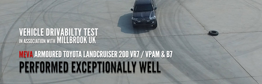 Armoured Toyota Land Cruiser 200