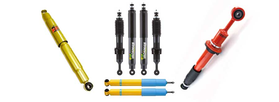 Armoured Toyota Land Cruiser 200  Shock Absorbers