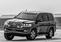 Mahindra Armoured Toyota Land Cruiser Testing UAE