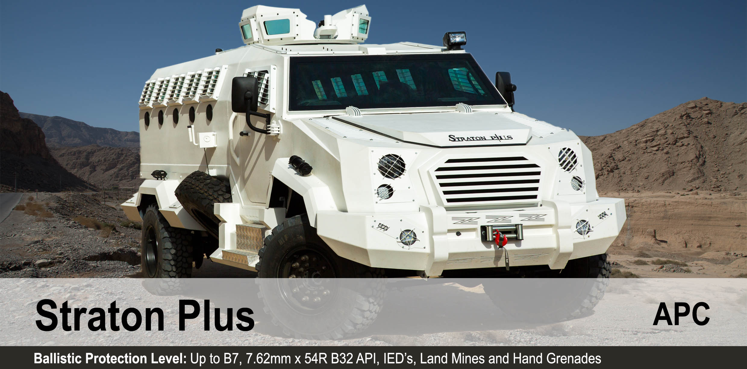 Mahindra Armoured Personnel Carrier Straton Plus
