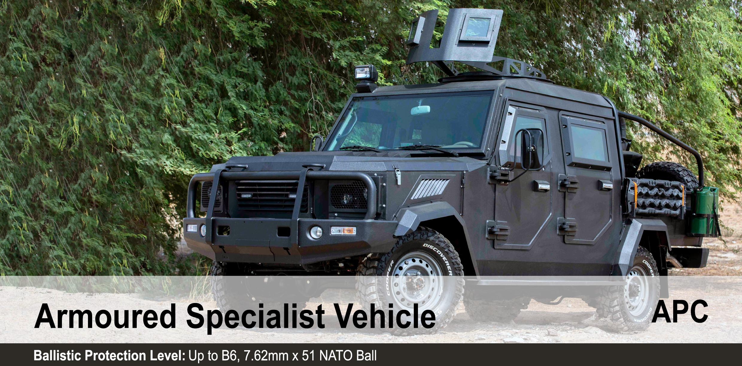 Mahindra Armored Specialist Vehicle, Armoured Personnel Carrier