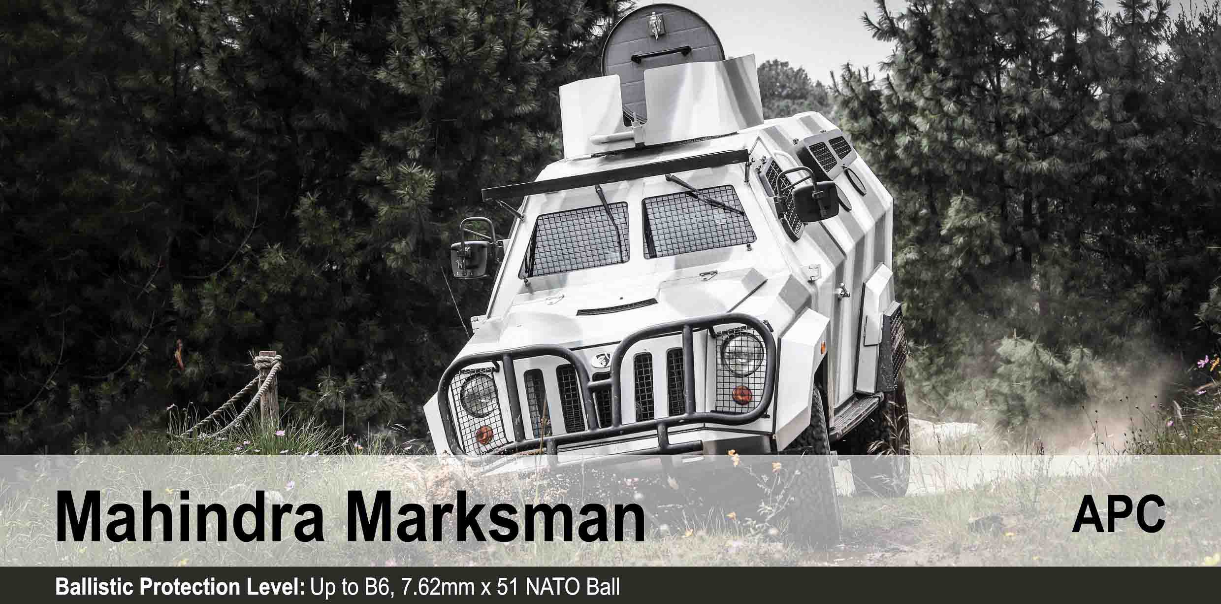 Mahindra Marksman Light Armoured Personnel Carrier