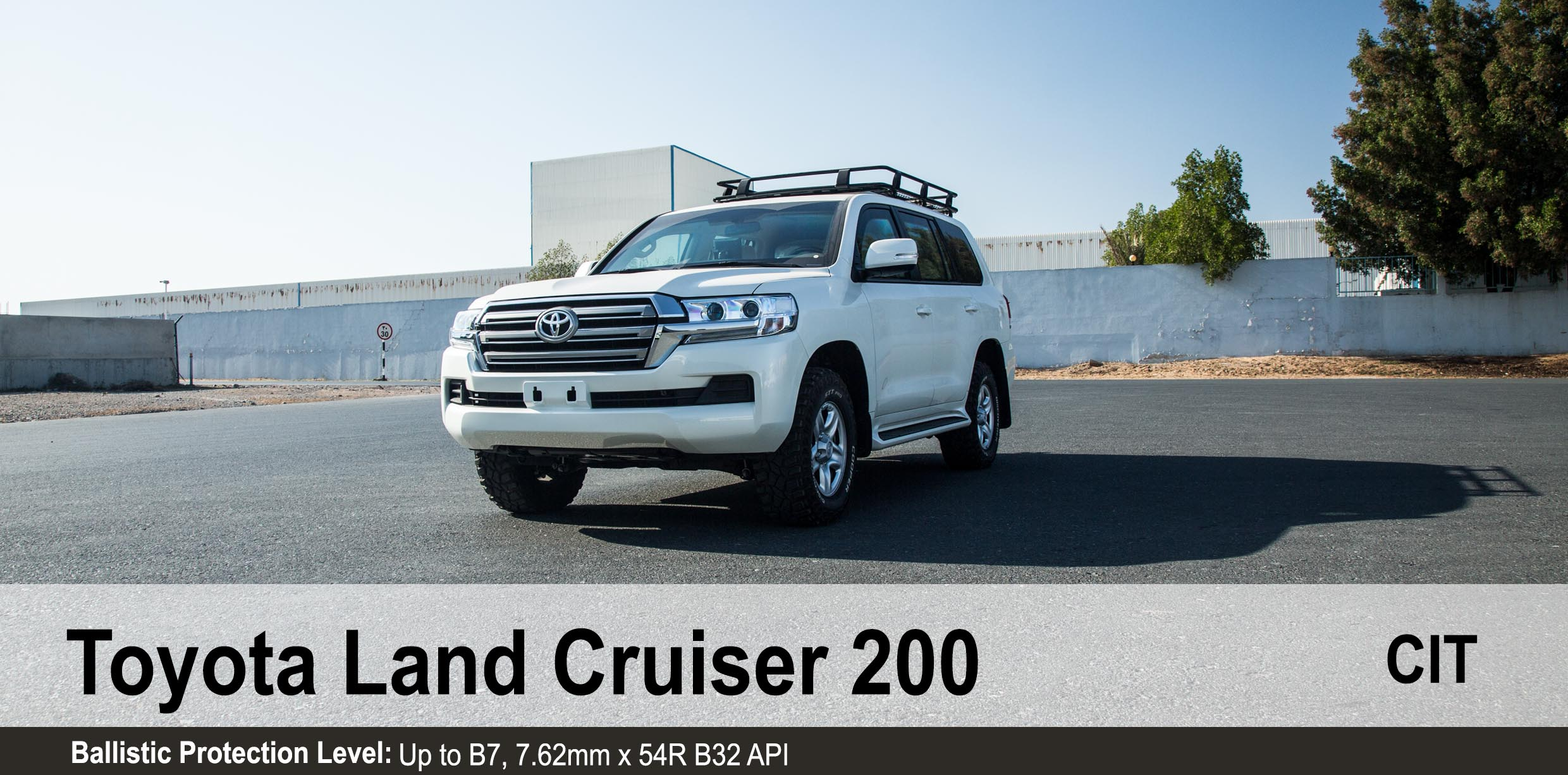 Armoured Toyota Land Cruiser 200 CIT