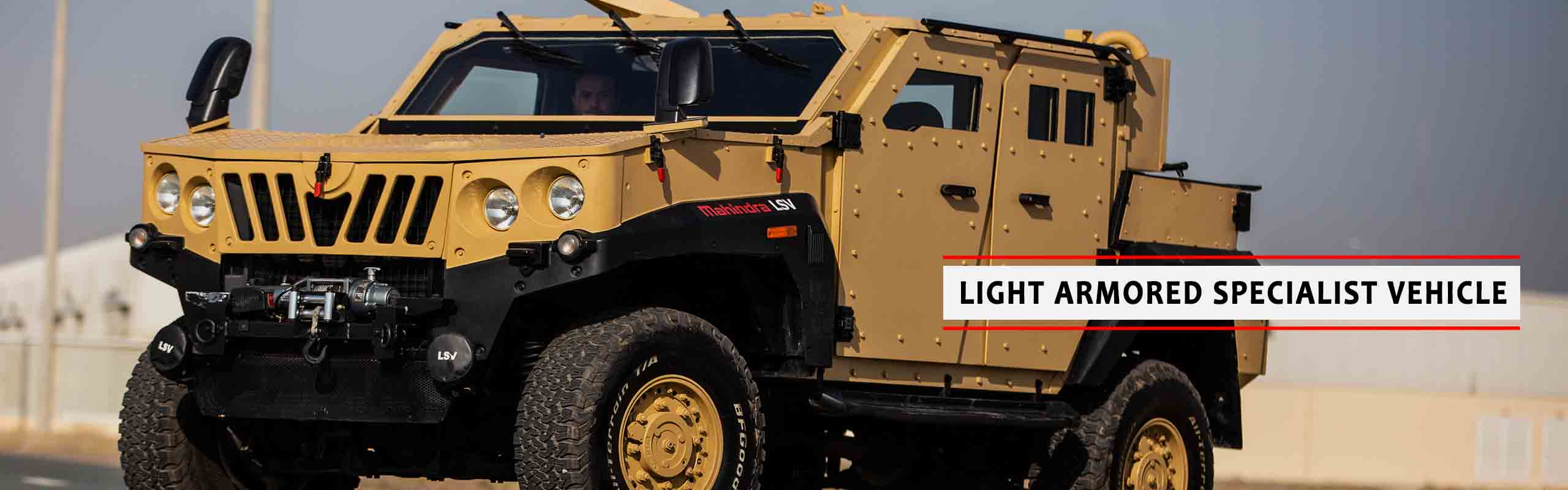 Mahindra Armoured UAE - Jordan| Mahindra Light
