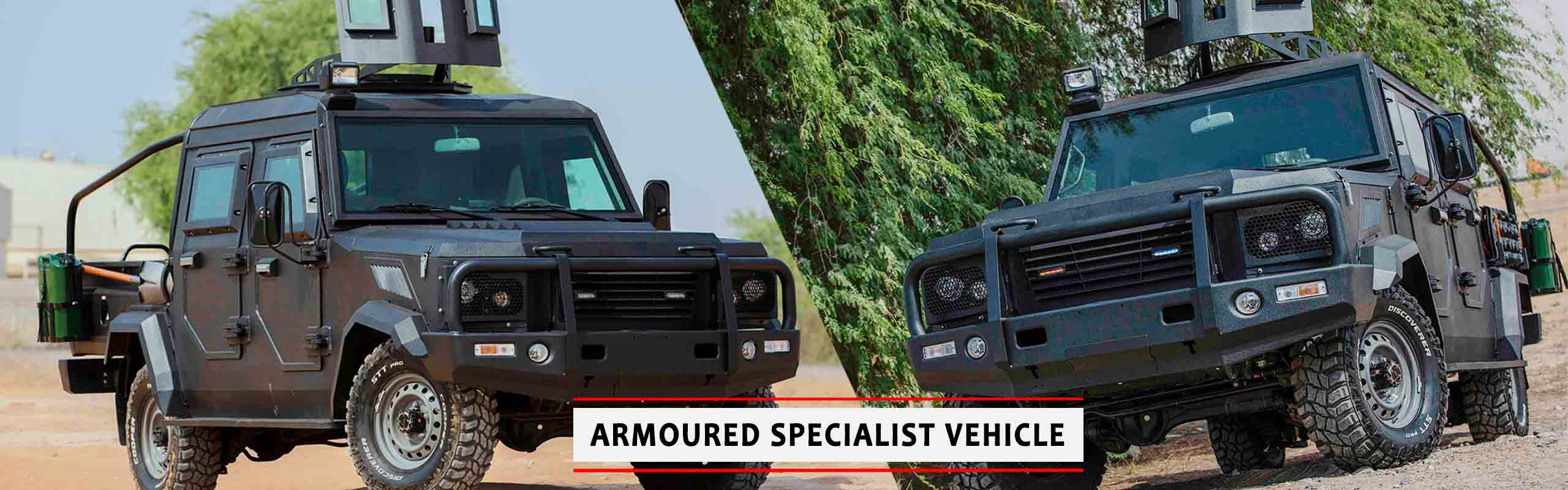 Mahindra Armoured Vehicles UAE - Jordan| Armoured Specialist Vehicle