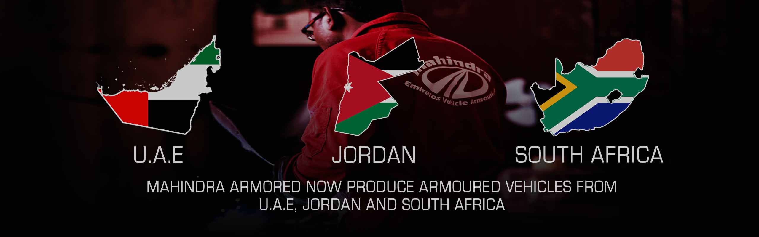 Mahindra Armoured Vehicles UAE - Jordan