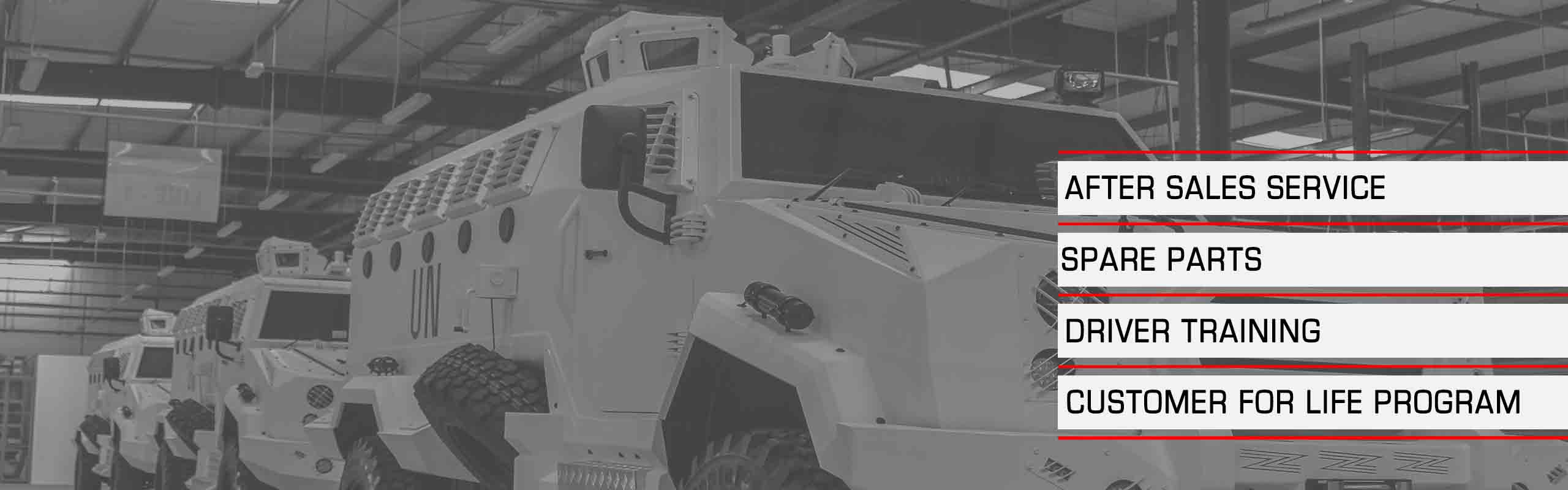 Mahindra Armoured Vehicles UAE - Jordan Service