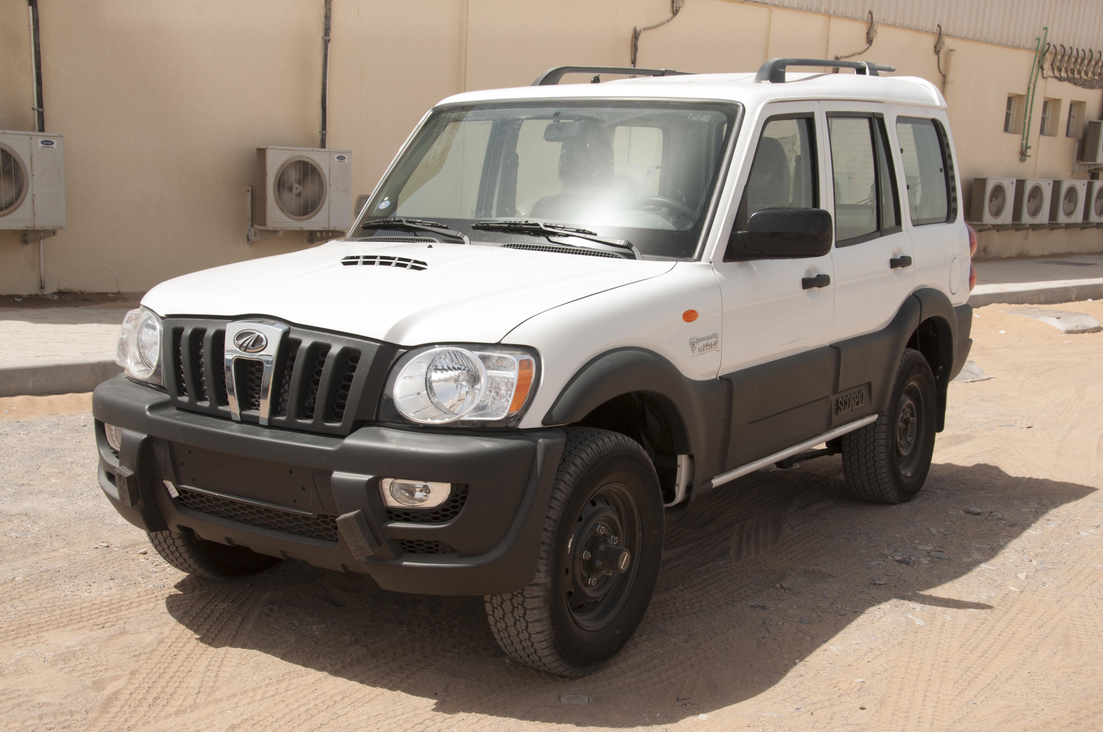 The Armoured Mahindra Scorpio SUV