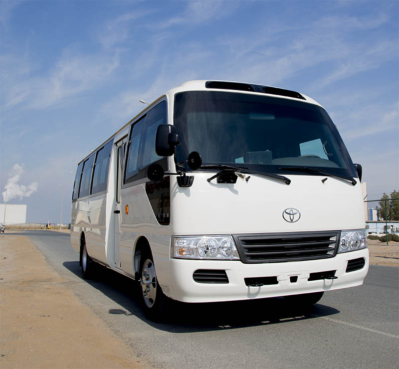 The MEVA Armoured Toyota Coaster