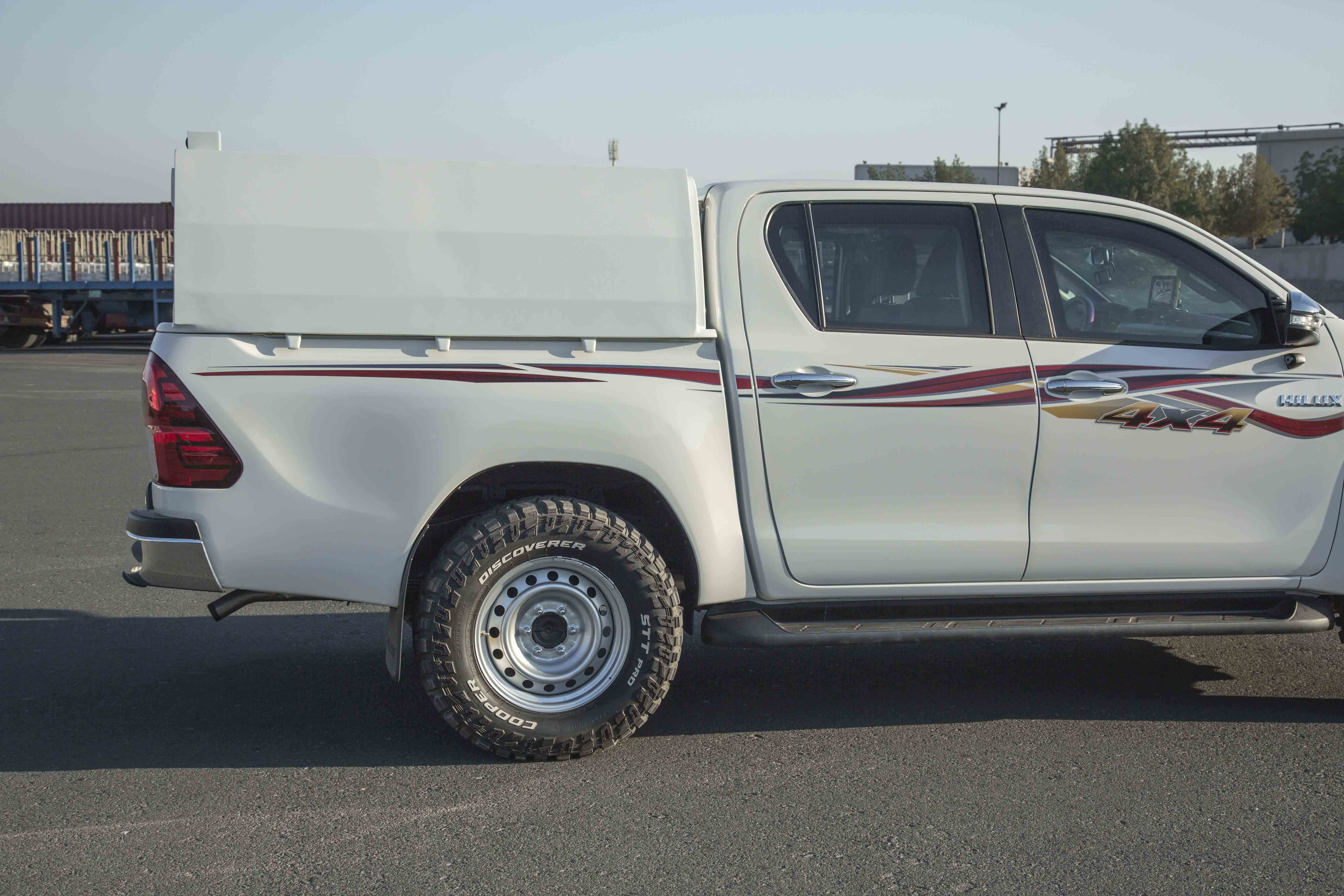 The Armoured Toyota Hilux Pick Up