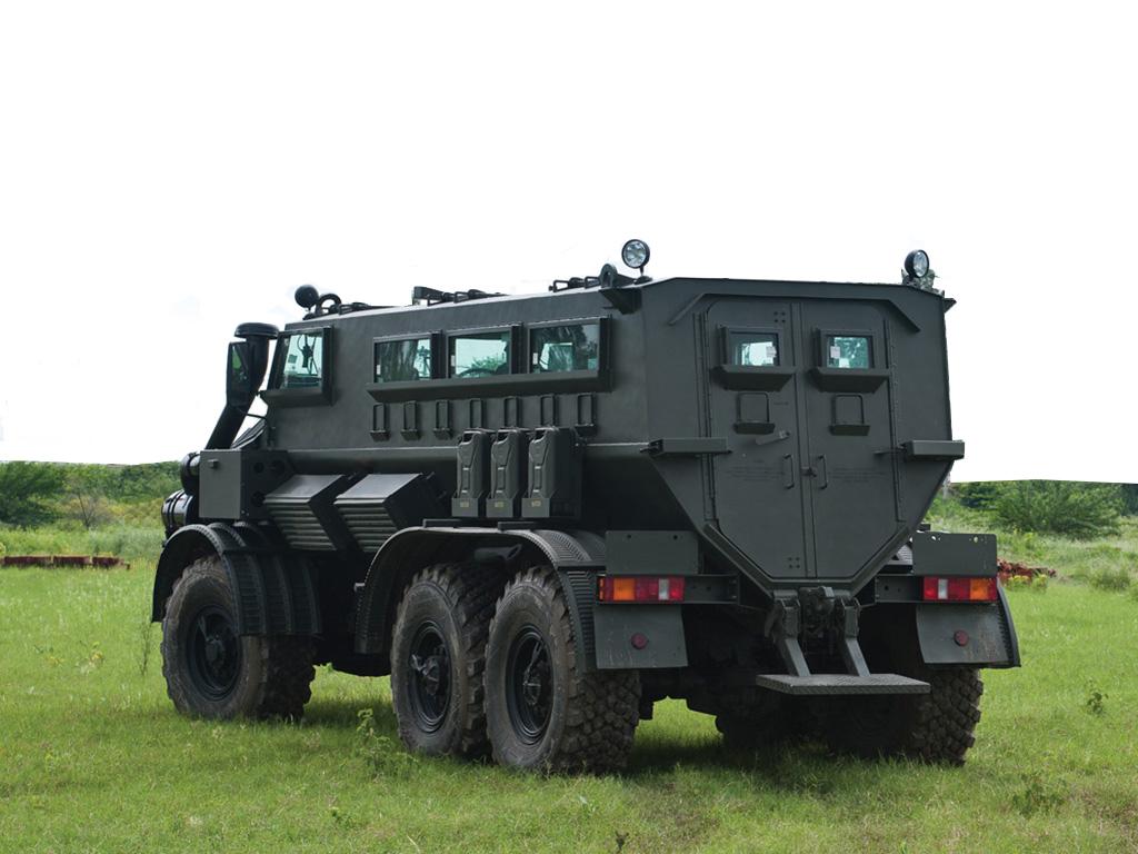 MPVi from Mahindra Emirates Vehicle Armouring