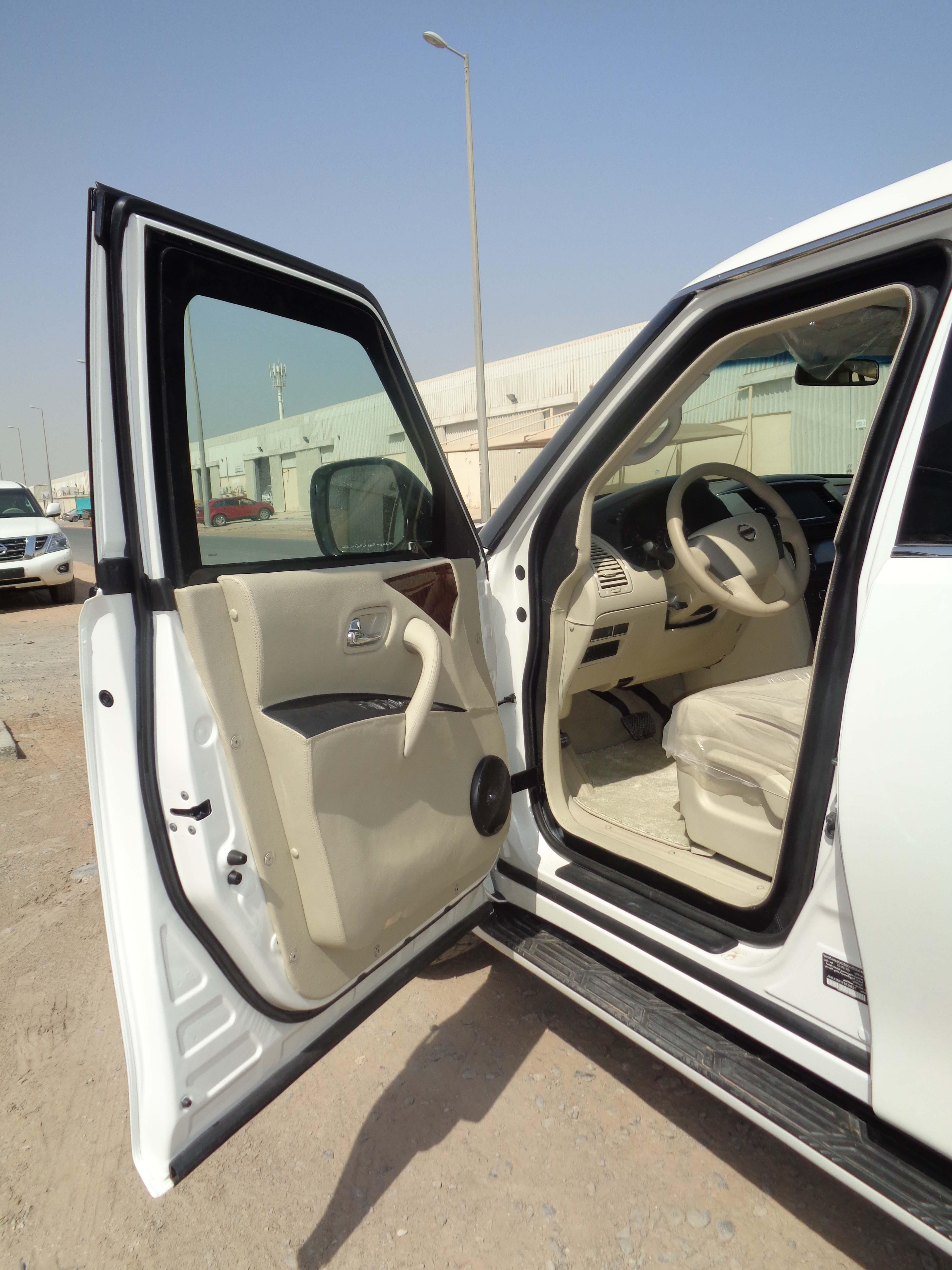 Nissan Patrol from Mahindra Emirates Vehicle Armouring