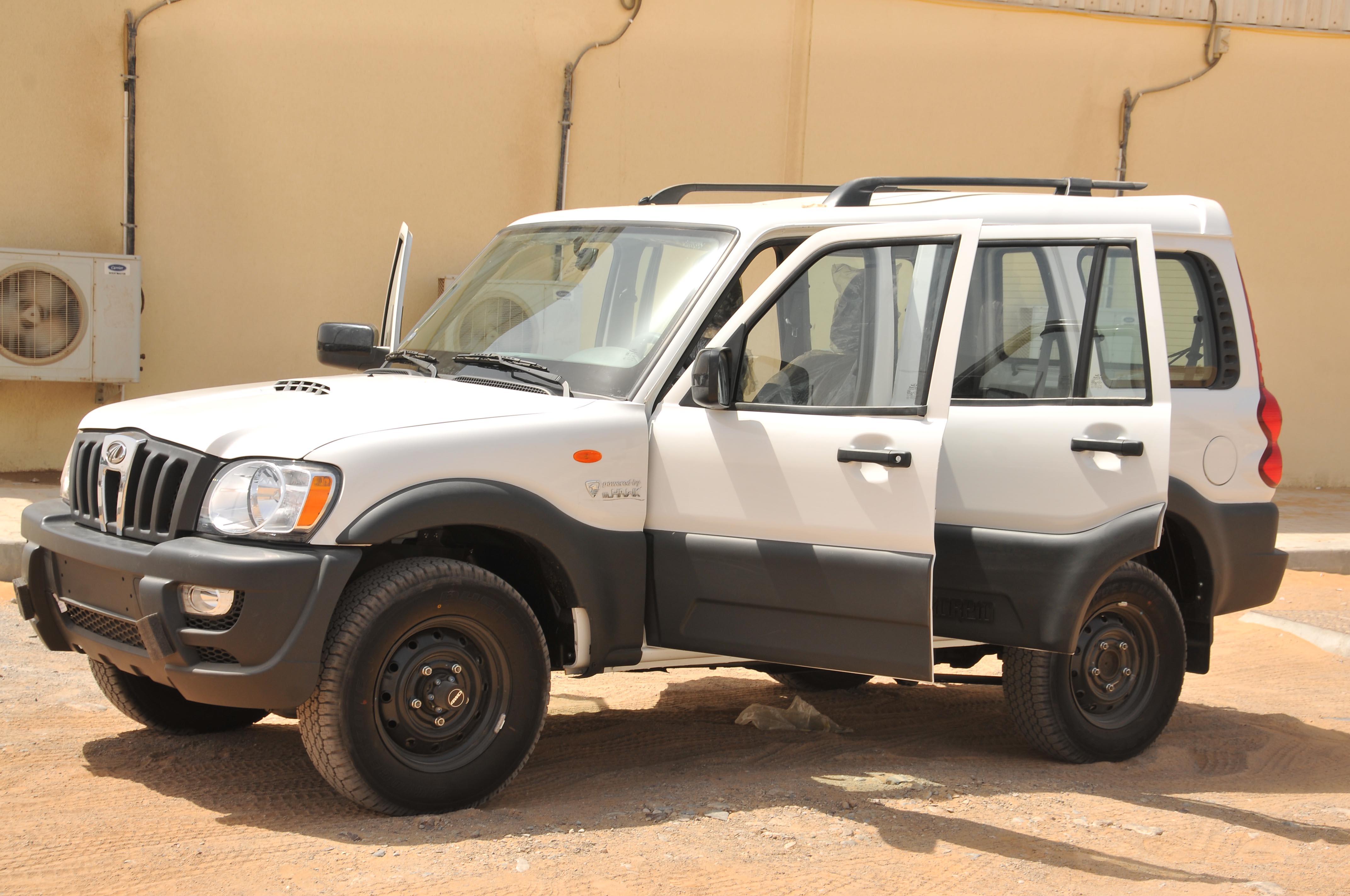 Mahindra Scorpio From Mahindra Emirates Vehicle Armouring
