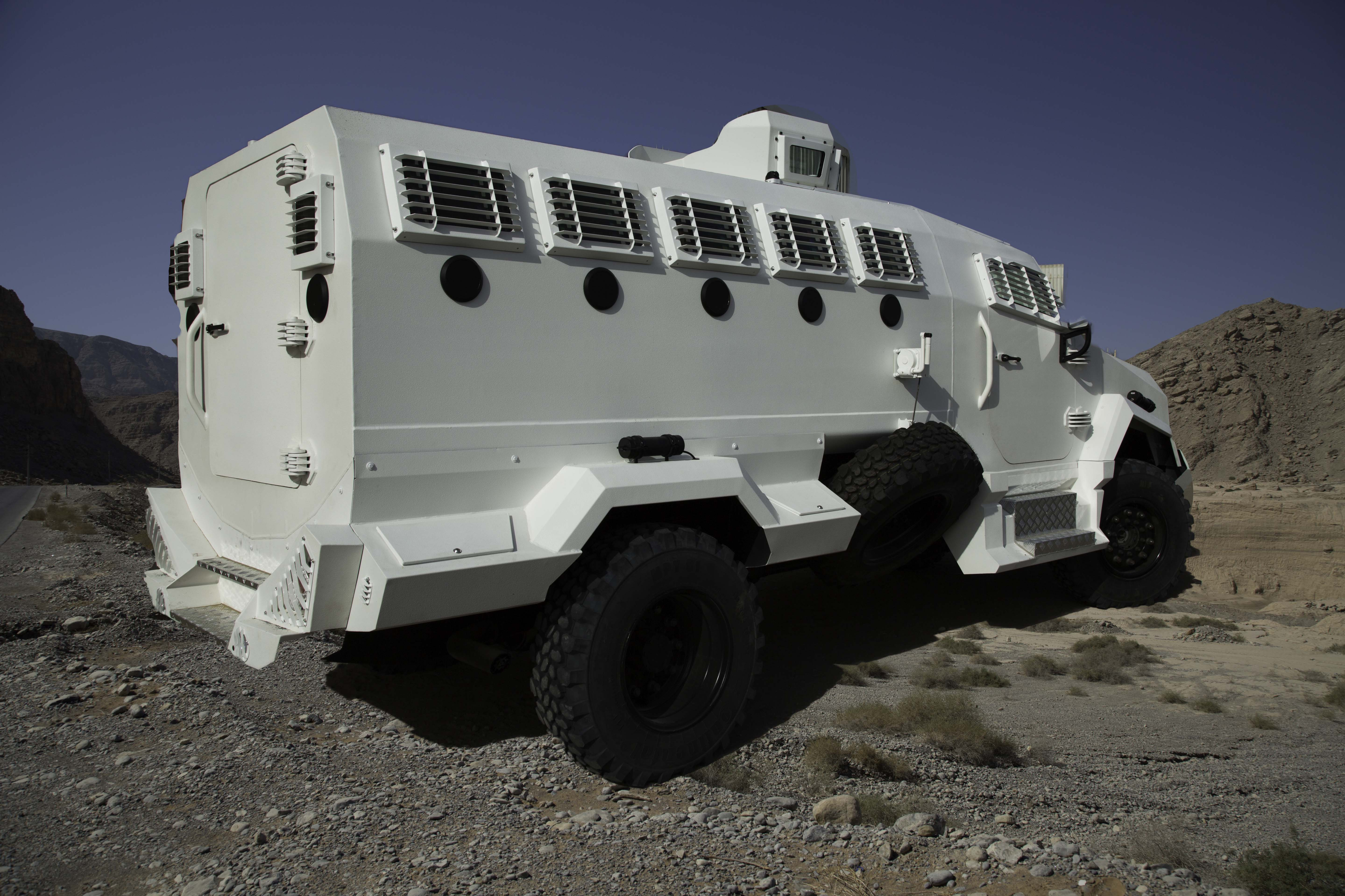 The MEVA STRATON PLUS APC Light Armoured Personnel Carrier