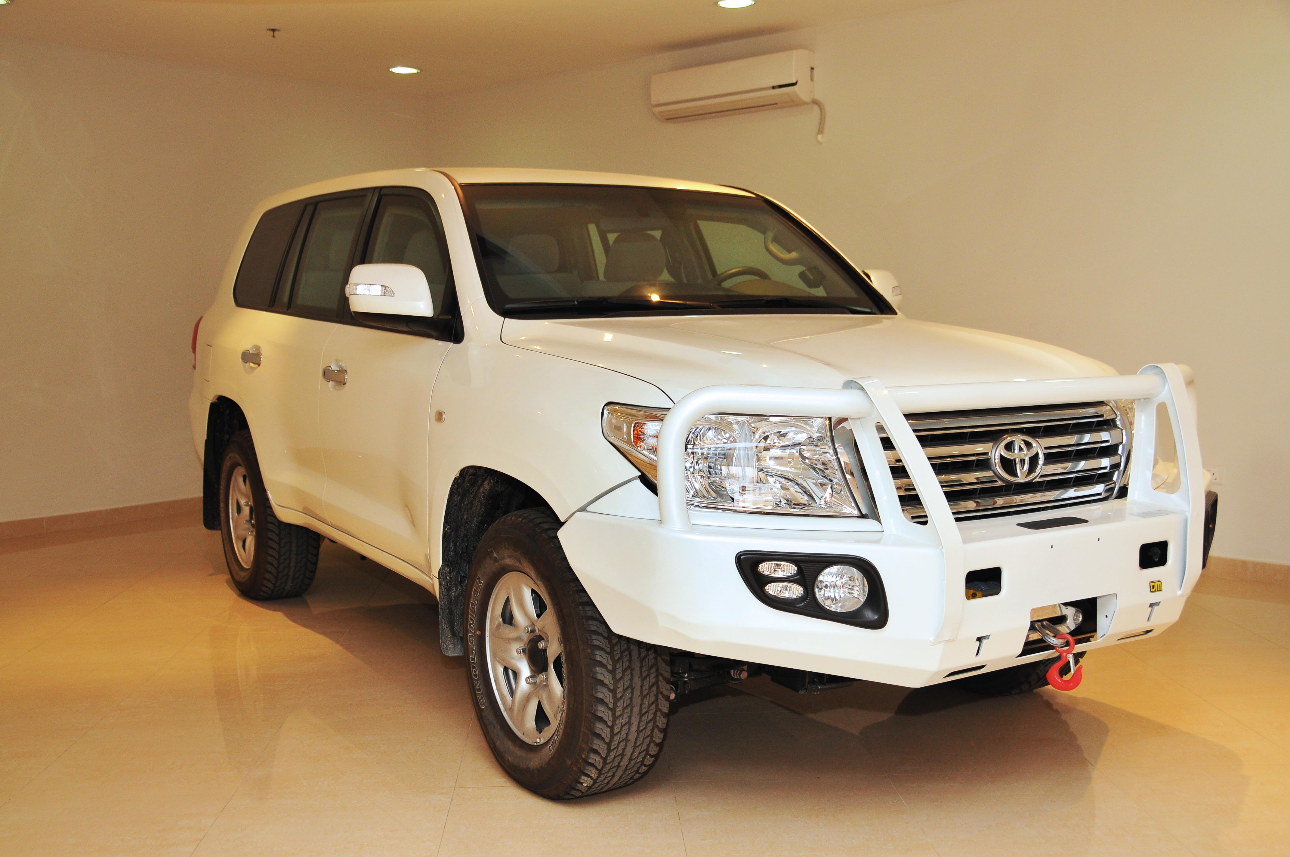 The Armoured Toyota Land Cruiser CIT
