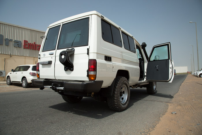 The MEVA Toyota Land Cruiser 78