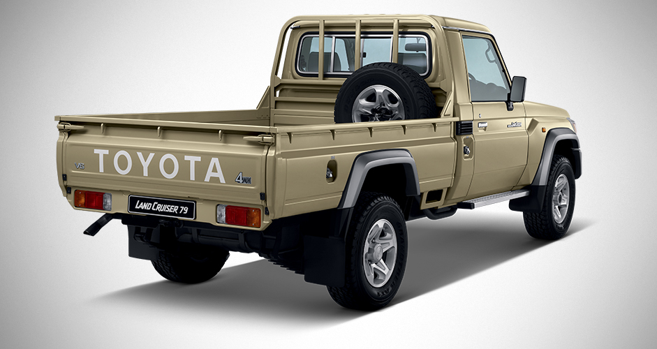 The MEVA Toyota Land Cruiser 79